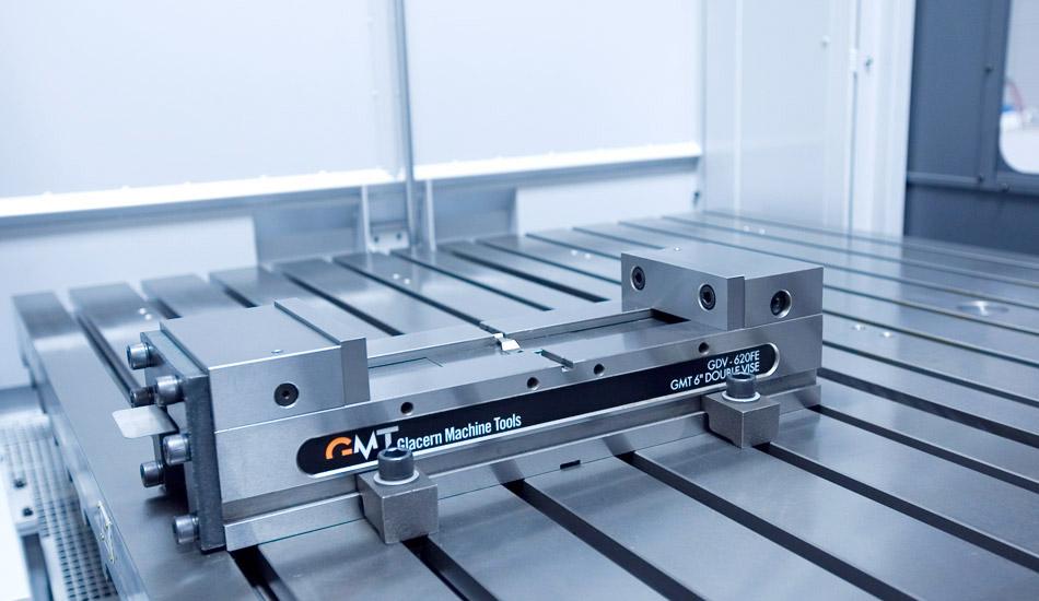 Glacern Machine Tools - GDV-620FE Double Vise